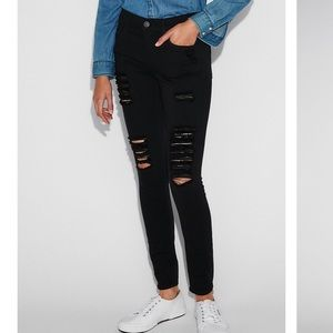 Express Ripped Jegging